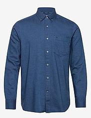 Calvin Klein - BUTTON DOWN BRUSHED TWILL SHIRT - basic shirts - calvin navy - 0