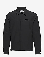 Calvin Klein - TECHNICAL STRETCH SHIRT - overshirts - calvin black - 0