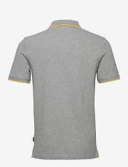 Calvin Klein - STRETCH TIPPING SLIM POLO - korte mouwen - mid grey heather - 1