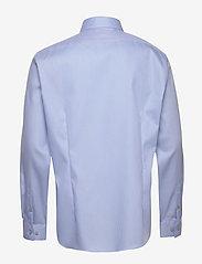Calvin Klein - STRETCH COLLAR STRUC - basic shirts - blue - 1