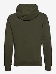 Calvin Klein - LOGO EMBROIDERY HOODIE - hoodies - dark olive - 1