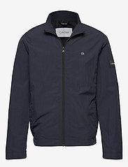 Calvin Klein - CRINKLE NYLON BLOUSO - light jackets - calvin navy - 0