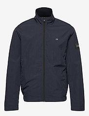 Calvin Klein - CRINKLE NYLON BLOUSO - light jackets - calvin navy - 1