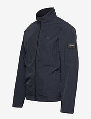 Calvin Klein - CRINKLE NYLON BLOUSO - light jackets - calvin navy - 3