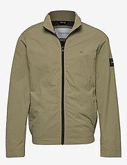 Calvin Klein - CRINKLE NYLON BLOUSO - light jackets - delta green - 0