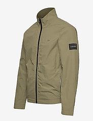 Calvin Klein - CRINKLE NYLON BLOUSO - light jackets - delta green - 3