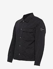 Calvin Klein - GMT WASHED CTN WORKW - light jackets - calvin black - 2