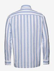 Calvin Klein - COTTON OXFORD STRIPE - oxford overhemden - bold stripe - white / vista bl - 1