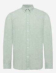 Calvin Klein - BUTTON DOWN COTTON L - basic overhemden - granite green - 0