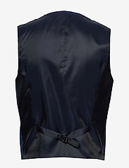 Calvin Klein - WOOL COTTON TROPICAL WAISTCOAT - waistcoats - regal navy - 1