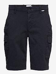 Calvin Klein - GARMENT DYED CARGO SHORTS - cargo shorts - calvin navy - 0