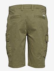 Calvin Klein - GARMENT DYED CARGO SHORTS - cargo shorts - delta green - 1