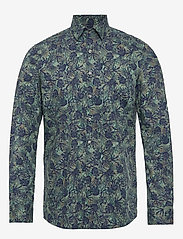 Calvin Klein - PALM PRINT SLIM SHIRT - casual overhemden - kalamata - 0