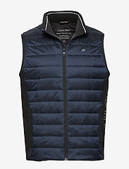 Calvin Klein - LIGHT WEIGHT SIDE LOGO VEST - vests - calvin navy - 0