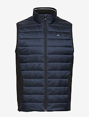 Calvin Klein - LIGHT WEIGHT SIDE LOGO VEST - vests - calvin navy - 1