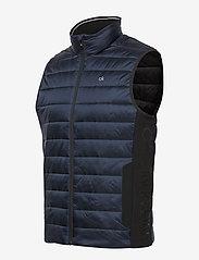 Calvin Klein - LIGHT WEIGHT SIDE LOGO VEST - vests - calvin navy - 3