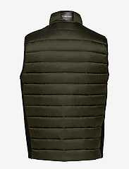Calvin Klein - LIGHT WEIGHT SIDE LOGO VEST - vests - dark olive - 1