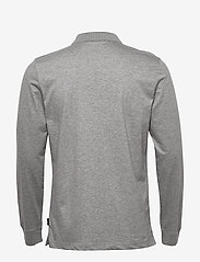 Calvin Klein - LIQUID TOUCH LONG SLEEVE POLO - polos à manches longues - mid grey heather - 1