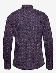 Calvin Klein - FLOWER PRINT SLIM SHIRT - business shirts - navy - 1