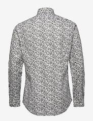 Calvin Klein - CAMO PRINT STRETCH SLIM SHIRT - business shirts - olive - 1