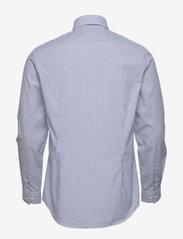 Calvin Klein - WASHED STRIPE SLIM SHIRT - formele overhemden - blue - 1