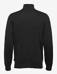 Calvin Klein - COTTON SILK 1/4 ZIP SWEATER - half zip - ck black - 1