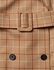 Calvin Klein - WINDOWPANE CHK DB LO - wool jackets - windowpane check - 5