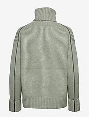 Calvin Klein - LS TURTLE NECK SWEATER - turtlenecks - seagrass - 1