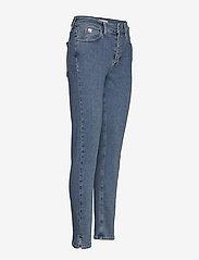 Calvin Klein - HIGH RISE SLIM PANT - wąskie dżinsy - natal blue - 3
