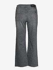Calvin Klein - WIDE LEG CROP PANT - broeken met wijde pijpen - maceio mid grey - 1