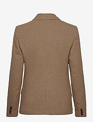 Calvin Klein - WOOL DB BLAZER - getailleerde blazers - hazel melange - 1