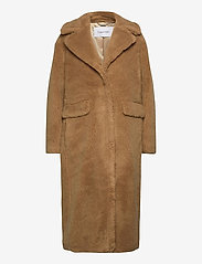 Calvin Klein - TEDDY COAT - faux fur - countryside khaki - 0