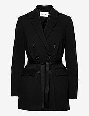 Calvin Klein - RECYCLED MILANO BELTED BLAZER - oversized blazere - ck black - 0