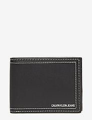 Calvin Klein - DOUBLE STITCH BILLFO - beurzen - black - 0