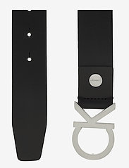 Calvin Klein - CK ADJ. BUCKLE BELT - belts - black - 1