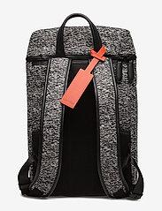 Calvin Klein - ILAY JACQUARD BACKPA - ryggsäckar - black/dusty ivory - 1