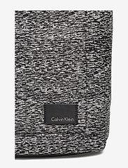 Calvin Klein - ILAY JACQUARD BACKPA - ryggsäckar - black/dusty ivory - 3