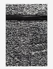 Calvin Klein - ILAY JACQUARD BACKPA - ryggsäckar - black/dusty ivory - 4