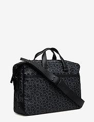 Calvin Klein - CK MONO LAPTOP BAG E - tietokonelaukut - black monogram - 2