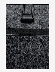 Calvin Klein - CK MONO LAPTOP BAG E - tietokonelaukut - black monogram - 4
