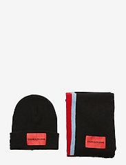 Calvin Klein - J STRIPEY GIFTSET - sjaals - black beauty - 5
