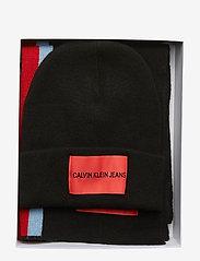 Calvin Klein - J STRIPEY GIFTSET - sjaals - black beauty - 6
