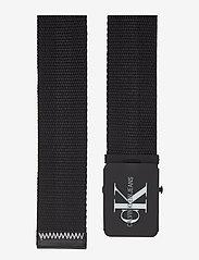 Calvin Klein - J 4CM ADJ.MONOGRAM C - ceintures classiques - black - 1
