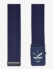 Calvin Klein - J 4CM ADJ.MONOGRAM C - riemen - navy - 1