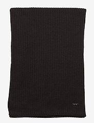 Calvin Klein - BASIC RIB SCARF - scarves - black - 2