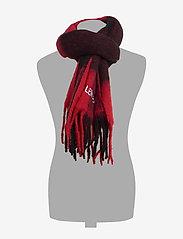 Calvin Klein - J BUFFALO CHECK WOOL - sjaals - black & red buffalo check - 1