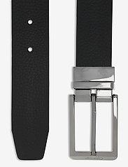 Calvin Klein - 35MM ADJ/REV SKIVED BUCKLE - ceintures classiques - black / dark brown - 2