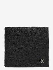 Calvin Klein - BILLFOLD W/COIN - beurzen - black - 0