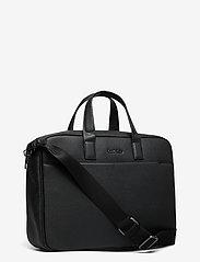 Calvin Klein - 2G LAPTOP BAG - tietokonelaukut - ck black - 2