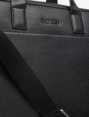 Calvin Klein - 2G LAPTOP BAG - tietokonelaukut - ck black - 3